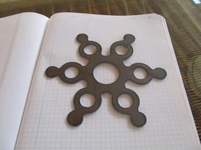 Plasma cut PS:One logo