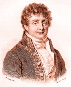 Engraving of Fourier.