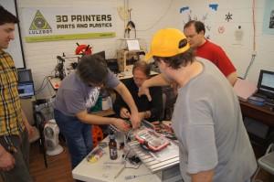 CNC Team Work
