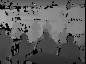 Kinect Depth Field