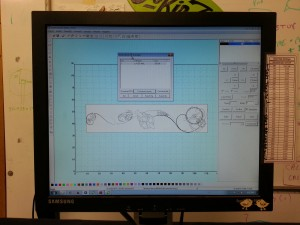 Harp Design on Chinese Laser Software