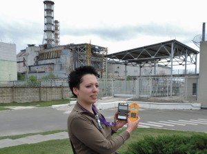 Bionerd at Chernobyl