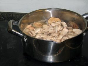 pot-o-mushrooms-before